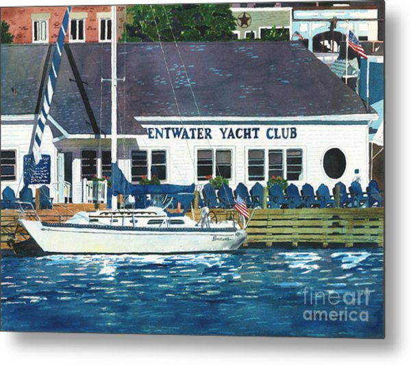 The Yacht Club Metal Print