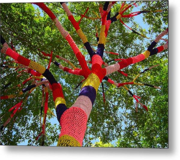 The Yarn Tree Metal Print