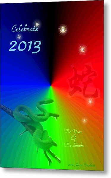 The Year Of The Snake Metal Print