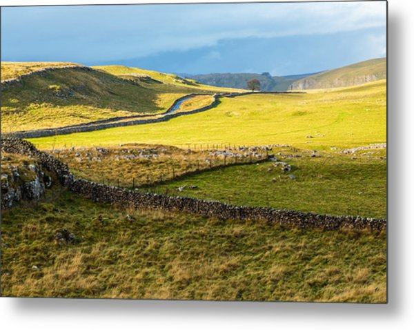 The Yorkshire Dales Metal Print
