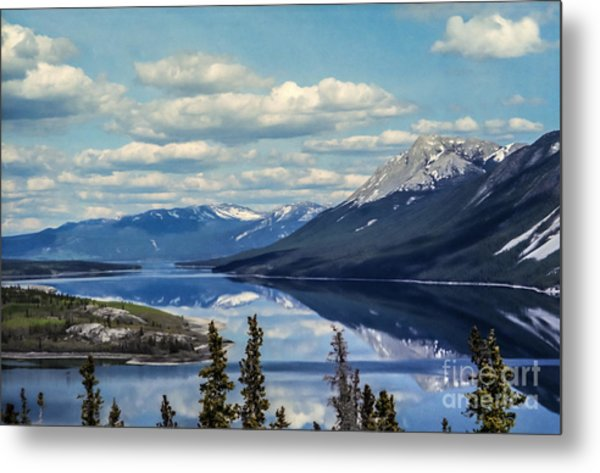 The Yukon Metal Print