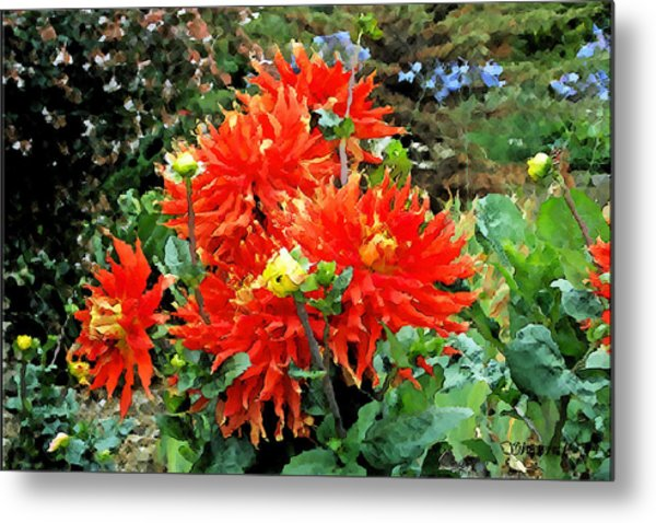 Theatre Garden Metal Print by Christopher Bage
