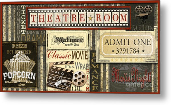 Theatre Room Metal Print