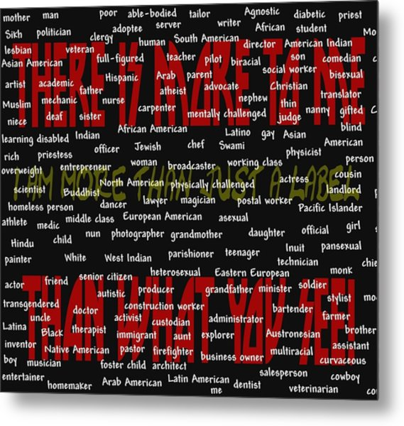 There Is More To Me Metal Print by Pharris Art