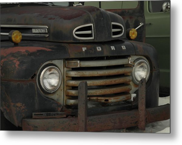 There Is Nothing Like An Old Ford Metal Print