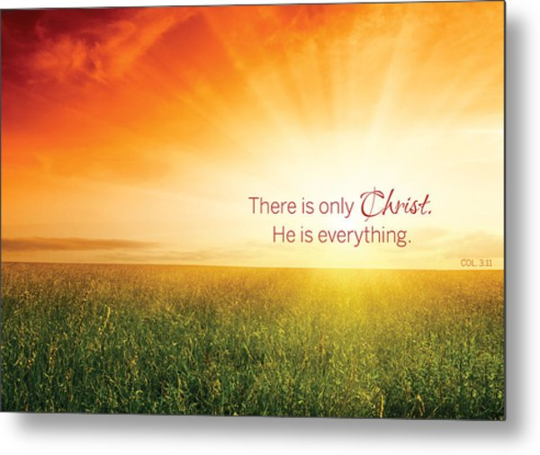 Colossians 3 Metal Print