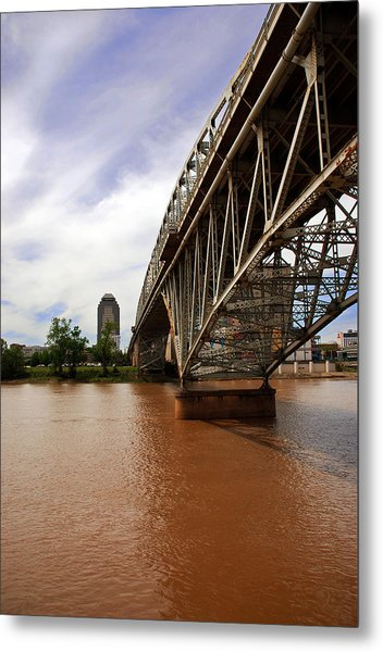 They Don't Call It Red River For Nothing Metal Print