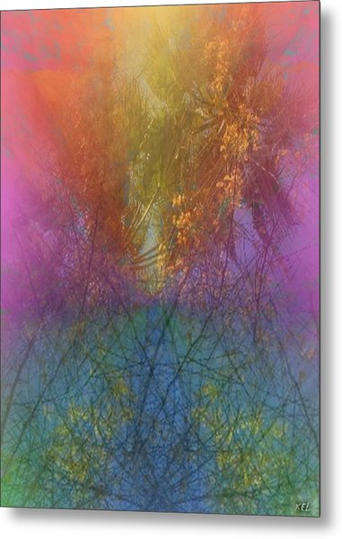 Thicket Metal Print
