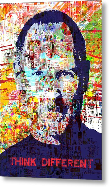 Think Different Metal Print