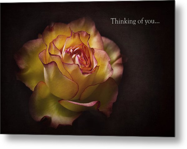 Thinking Of You... Metal Print