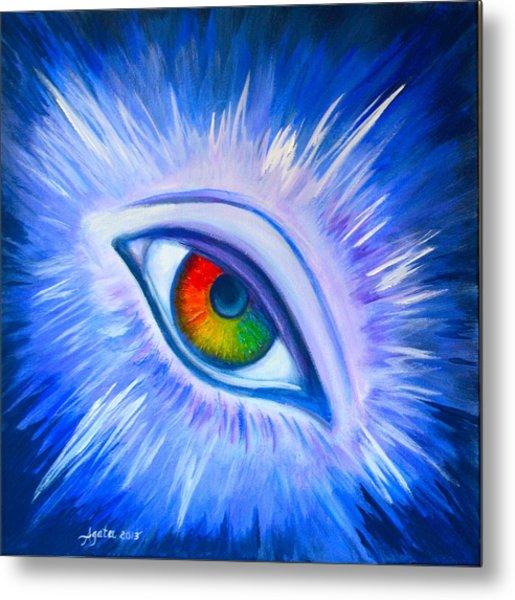 Third Eye Diamond Metal Print