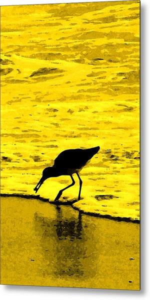 This Beach Belongs To Me Metal Print