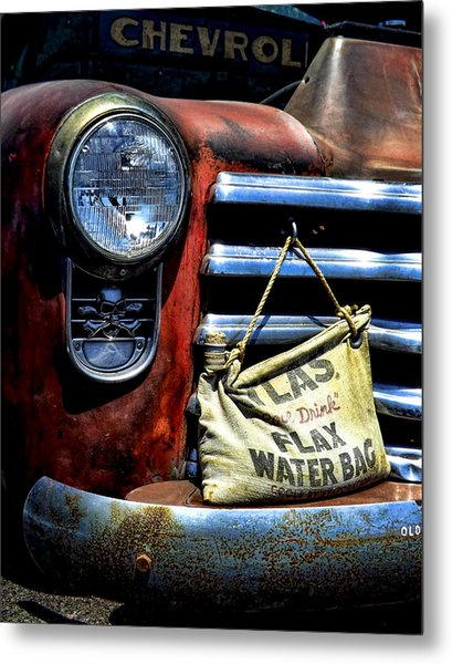 This Ol' Chevy Metal Print