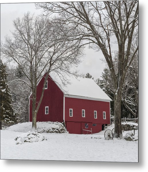 This Old Barn Metal Print
