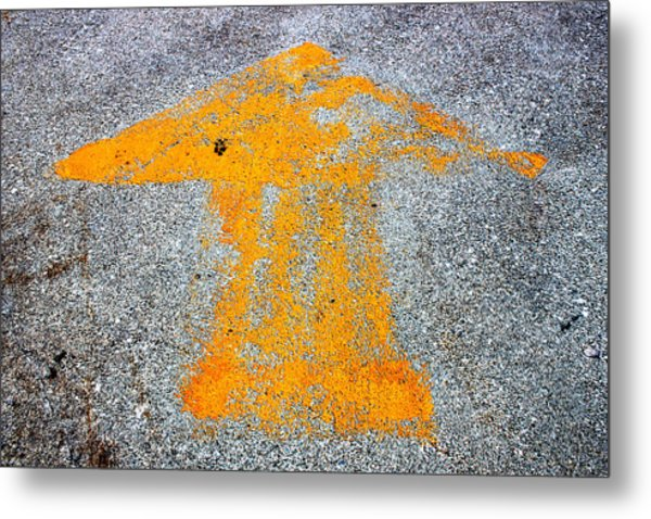 This Way To Oblivion Industrial Decay Series No 004 Metal Print