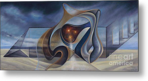 This World Other Worlds Todd's World Metal Print