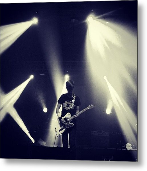 @thisisblocparty  #blocparty #concert Metal Print