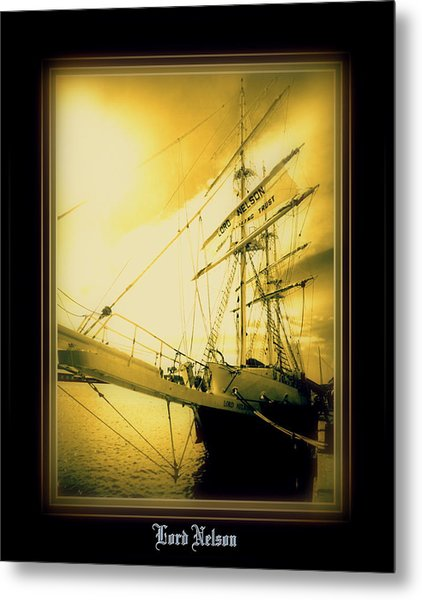 Th'lord Nelson Metal Print by Ritchard Mifsud