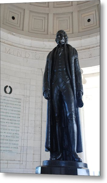 Thomas Jefferson Statue Metal Print
