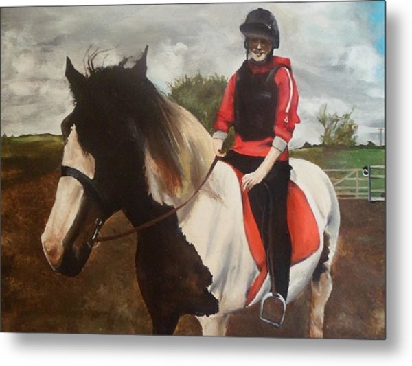 Thompsons Horse Metal Print