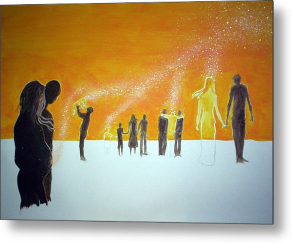 Those Who Left Early Metal Print