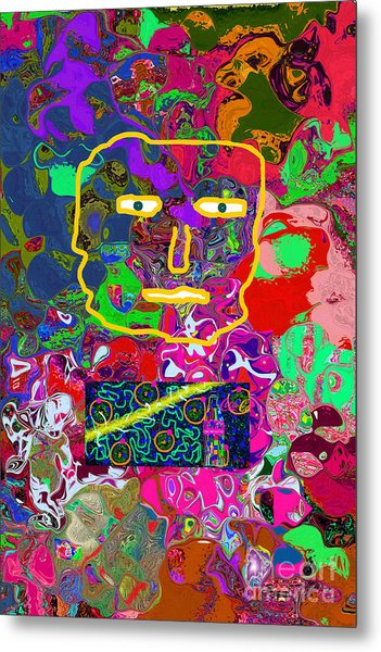 Thoughts Create Reality Metal Print