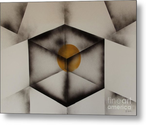 Thoughts Outside The Box. Metal Print