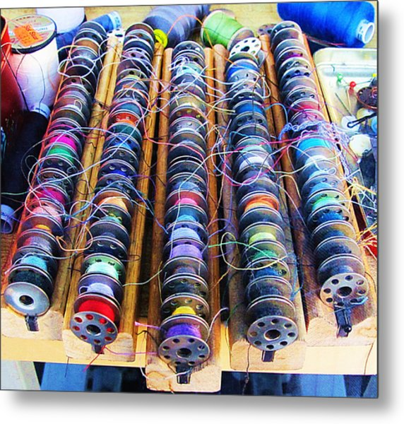 Threads I Metal Print