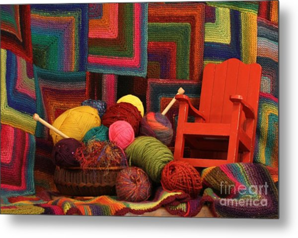 Threads Of The Soul Al Profits Benefit Hospice Of The Calumet Area Metal Print