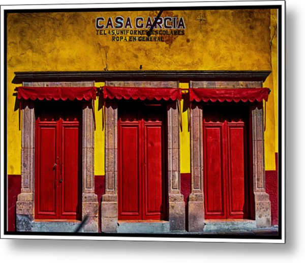 Three Doors Down Metal Print