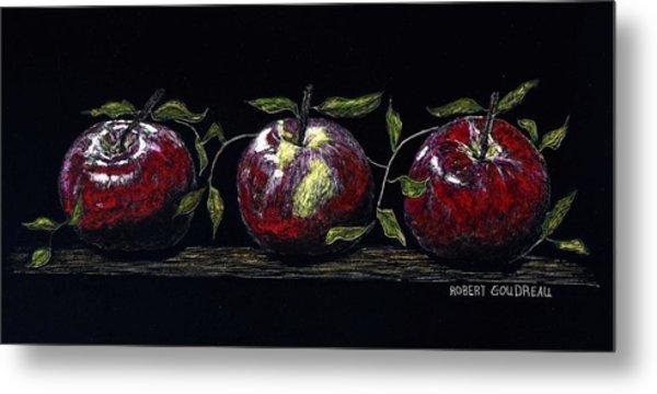 Three Macs Metal Print by Robert Goudreau