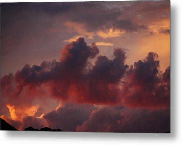 Three Sister Clouds Metal Print
