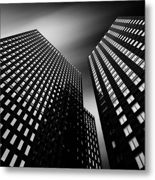 Three Towers Metal Print