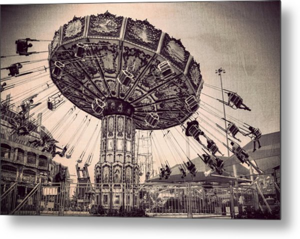 Thrill Rides Metal Print