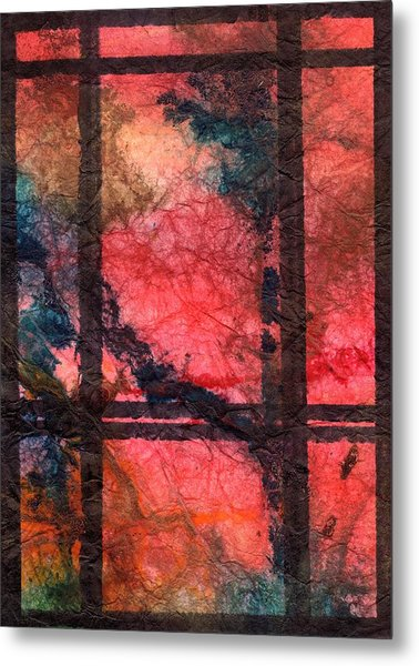 Through My Window 21 Metal Print