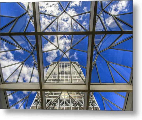 Through The Atrium Metal Print by Anna-Lee Cappaert