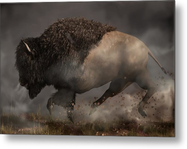 Thunderbeast Metal Print