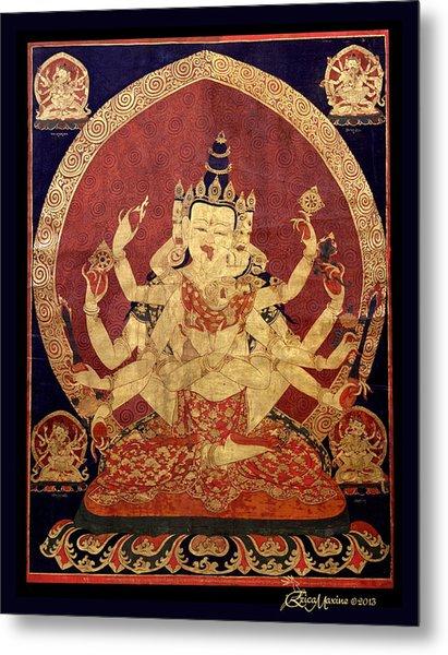 Tibetan Art Metal Print