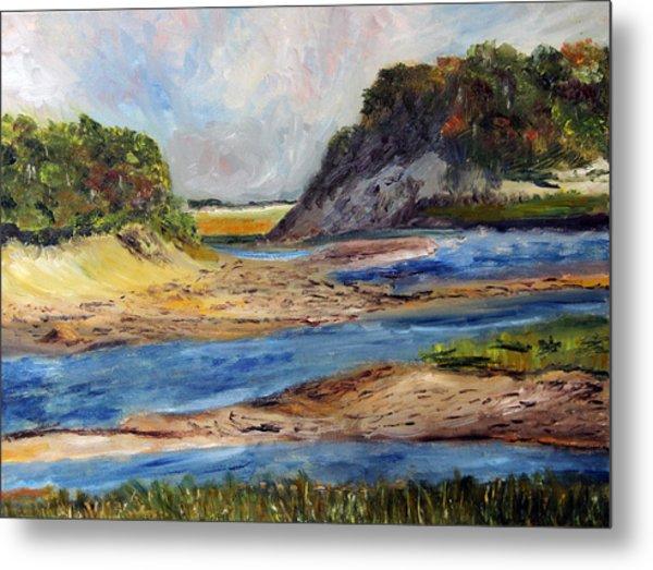 Tidal Dunes In Provincetown Metal Print