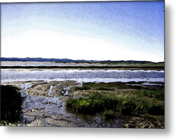 Tidal Flats Metal Print by Christopher Bage
