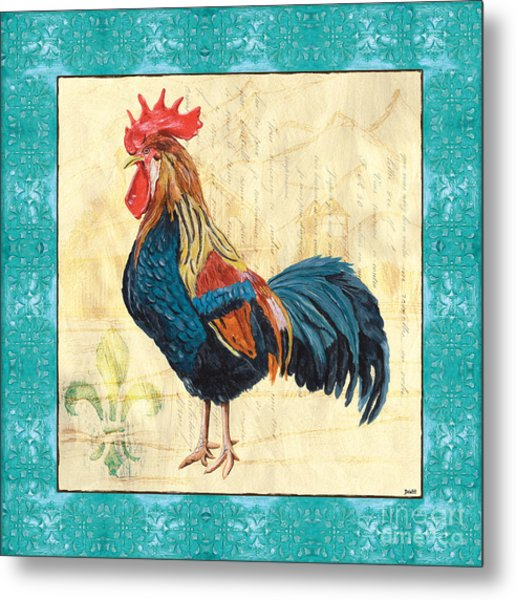Tiffany Rooster 2 Metal Print
