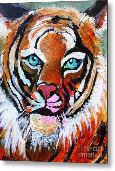 Tiger Spirit Metal Print