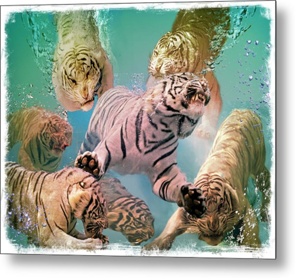 Tiger Tank Metal Print