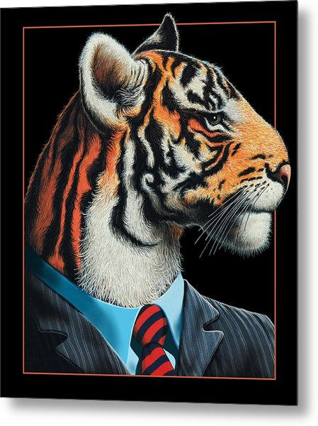 Tigerman Metal Print