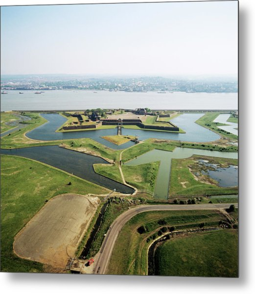 Tilbury Fort Metal Print by Skyscan/science Photo Library