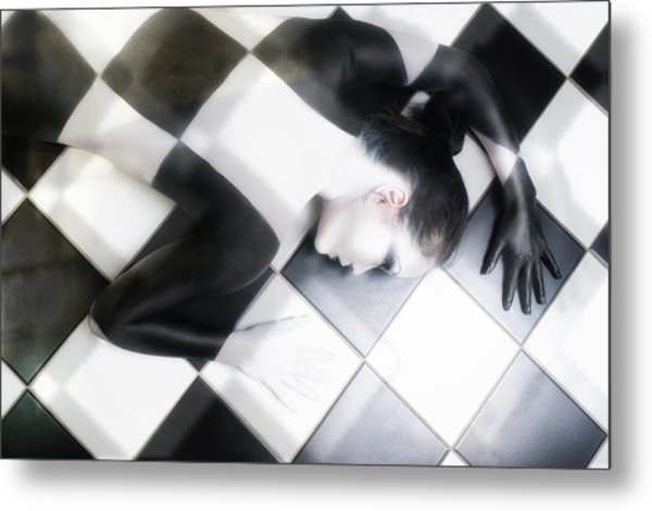 Tile Tales Metal Print by