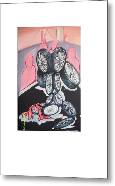 Till The Wheels Fall Off Metal Print by Richard Wright Galleries