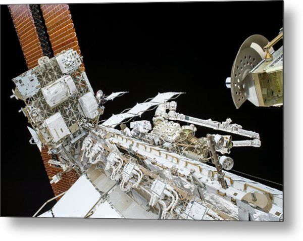 Tim Kopra's Spacewalk Metal Print
