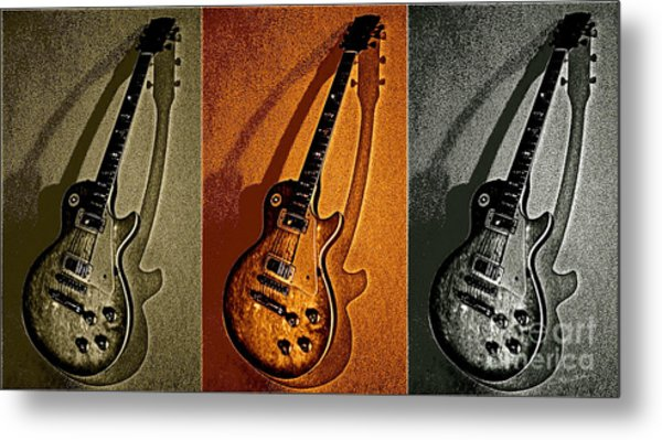 Timbre Rock Metal Print