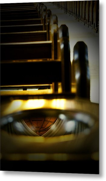 Time For Reflection Metal Print by John Monteath